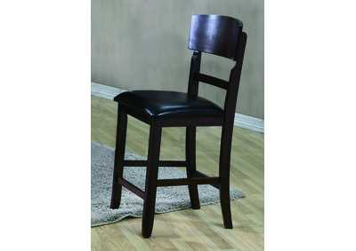 Conner Espresso Counter Height Side Chair (Set of 2)