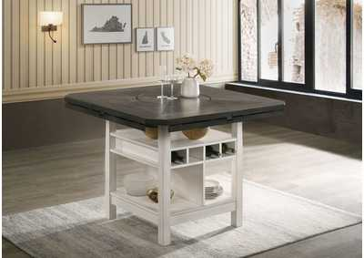 Image for Conner Grey Counter Height Table Shelve