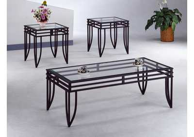 Matrix Occasional Table Set (Cocktail & 2 Ends)