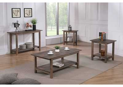 Image for Soto Brown Wooden Sofa Table