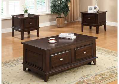 Image for Harmon Brown End Table