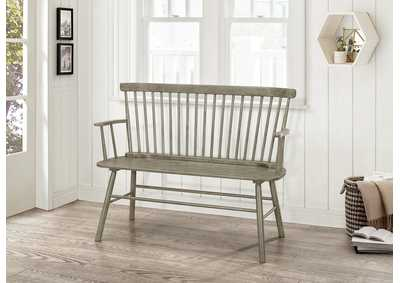 Jerimiah Gray Spindleback Bench