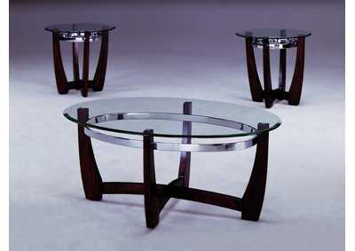 Mitchell Occasional Table Set (Cocktail & 2 Ends)