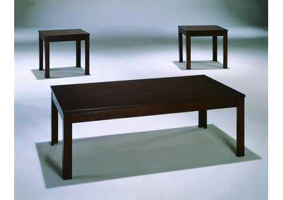Pierce Occasional Table Set (Cocktail & 2 Ends)