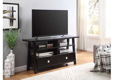 Jarvis Espresso TV Stand Assembled Drawers