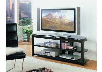 Delta Glass Top Television Stand