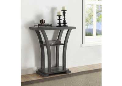 Draper Gray Console Table