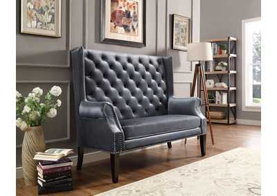 Odina Grey Loveseat