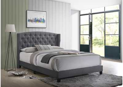 Rosemary Grey Twin Bed