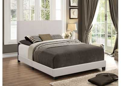Erin Khaki Upholstered Platform King Bed