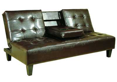 Image for Bennett Espresso Bennett Adjustable Espresso Sofa