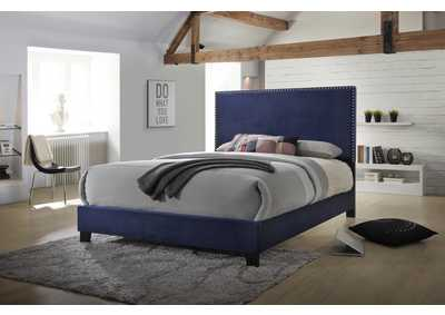 Pax Navy Upholstered Daybed