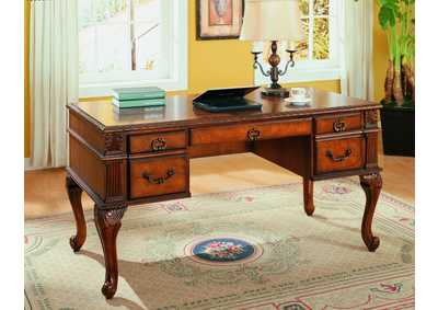 Image for Neo Renaissance Brown Home Office Desk