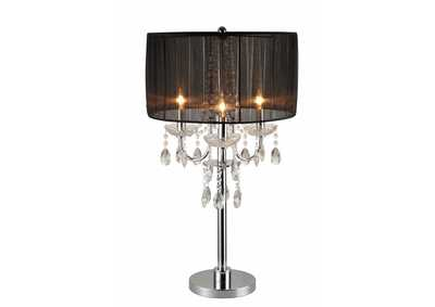 Black Chandelier Table Touch Lamp