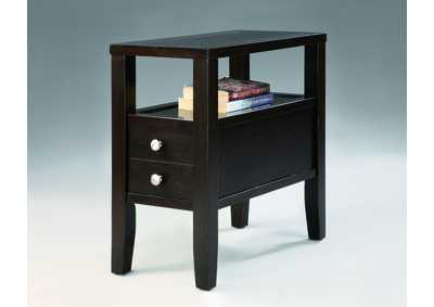 Matthew Brown Chairside Table