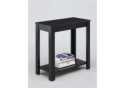 Image for Pierce Black Chairside Table