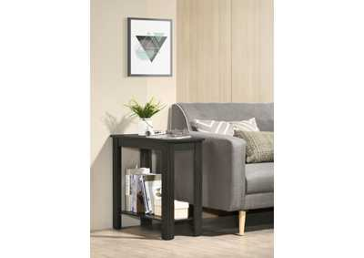 Image for Pierce Charcol Chairside Table