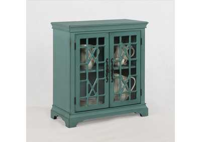 Francesca Aqua Accent Table
