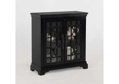 Francesca Black Accent Table