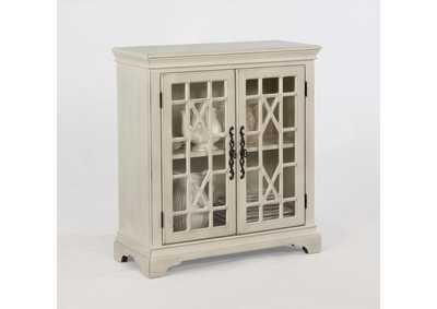 Francesca Ivory Accent Cabinet
