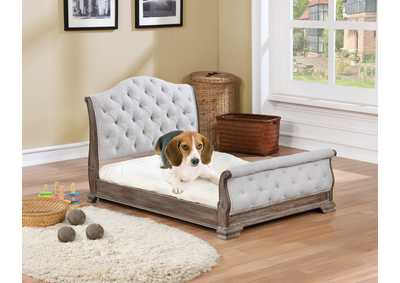 Sheffield Antique Grey Pet Bed
