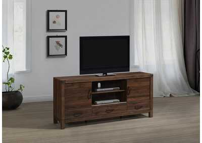 Belmont Brown Tv Stand W/ Drawers