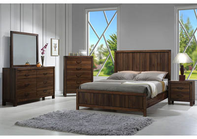 Belmont Full Wood Panel Bed