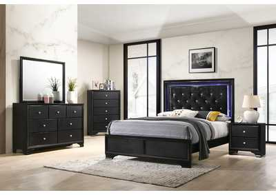 Image for Micah Black Twin Bed