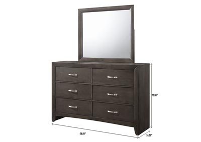 Image for Galinda Brown Dresser w/Mirror
