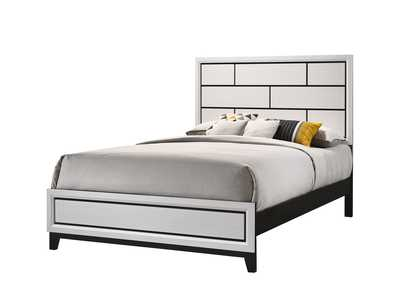 Akerson Chalk Queen Panel Bed