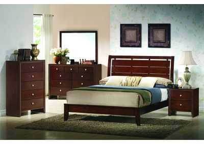 Evan Full Bed w/Dresser, Mirror and Nightstand