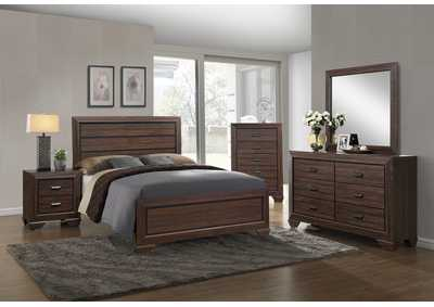 Farrow Chocolate Twin Panel Bed
