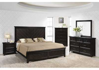 Charles King Panel Bed