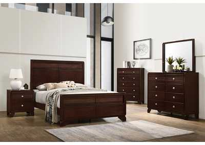 Tamblin Queen Bed w/Dresser, Mirror and Nightstand