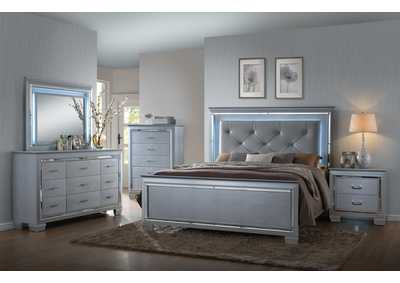 Image for Lillian King Bed w/Dresser and Mirror