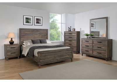 Image for Tacoma Brown Twin Panel Bed