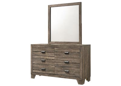 Image for Millie Brown Dresser w/Mirror