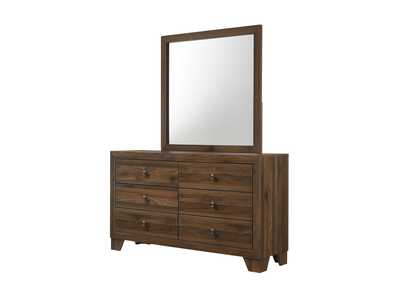 Image for Millie Brown Cherry Dresser & Mirror