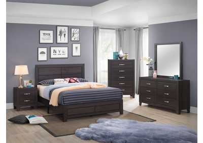 Image for Hopkins Grey Dresser & Mirror