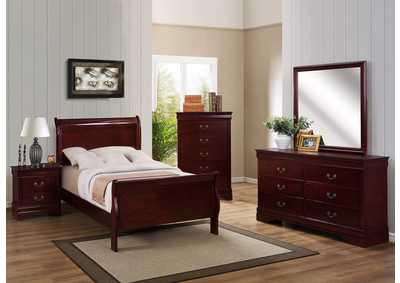 Image for Louis Philip Cherry Full Bed