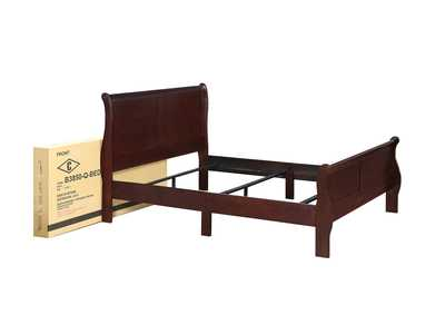 Louis Philip  Cherry Bed In One Box