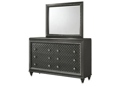 Image for Giovani Grey Dresser w/Mirror