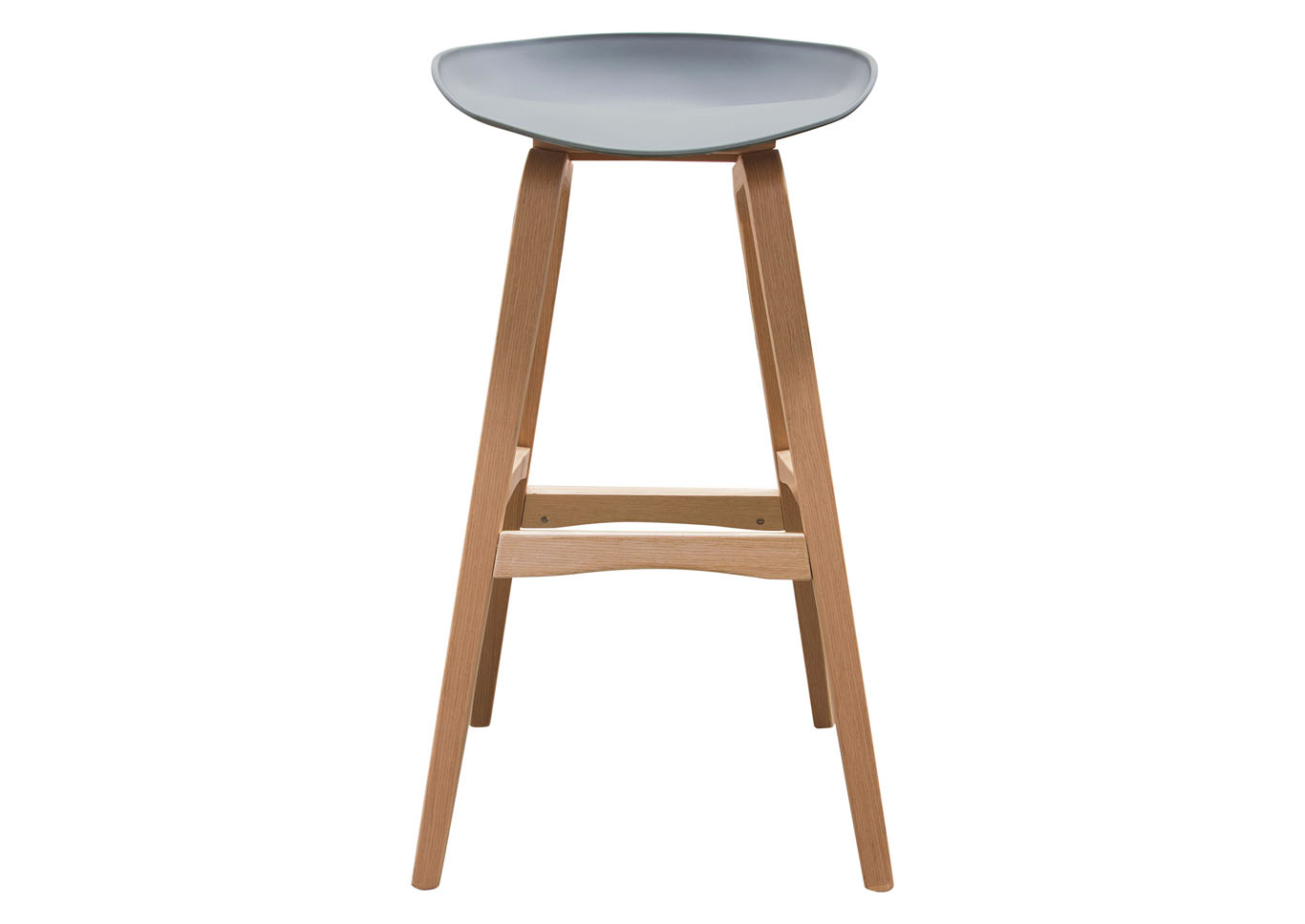 Brentwood Gray Bar Height Stool w/Molded Bamboo Frame,Diamond Sofa