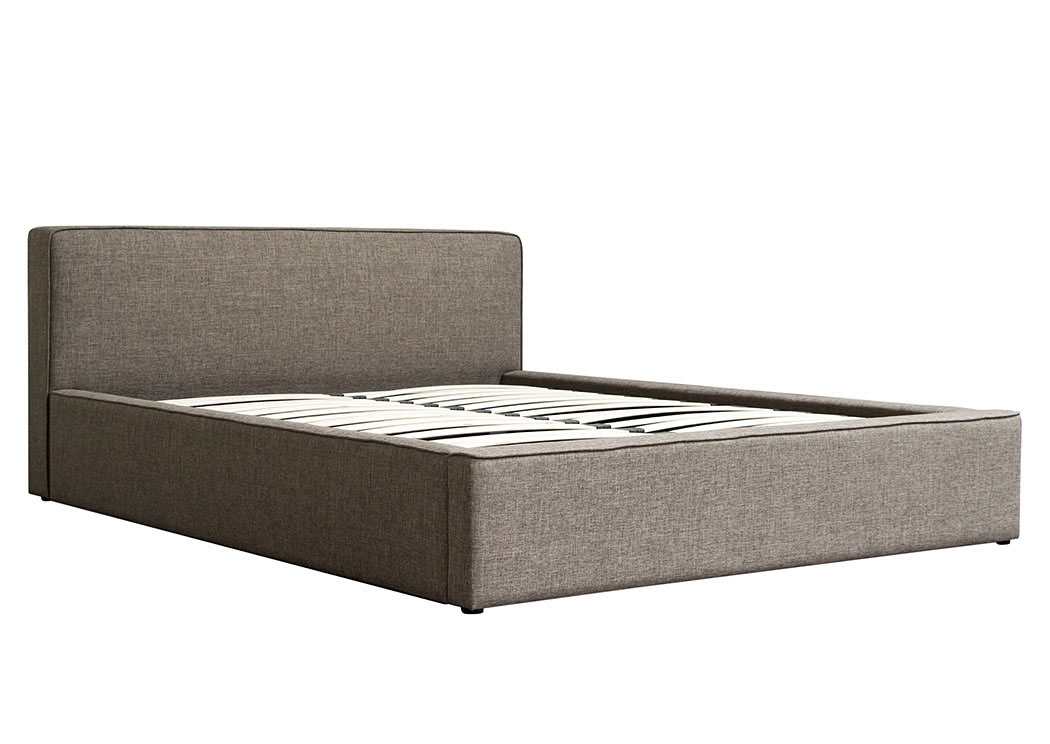 Quality Furniture WA Euro Low Profile California King Bed in