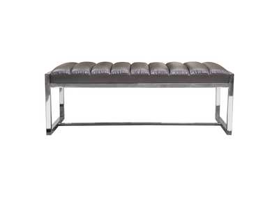 Bardot Elephant Grey Large Bench/Ottoman