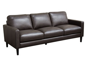 Omega Full Leather Sofa