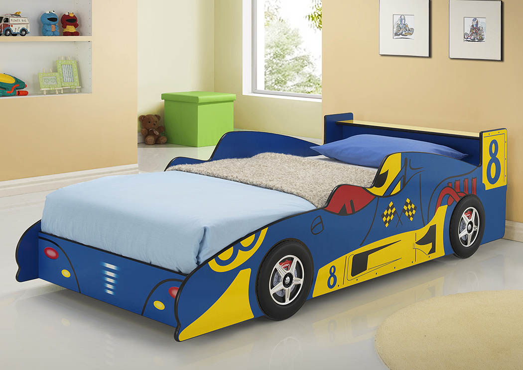 Mattress Furniture For Less Twintwin Blue Yellow Race