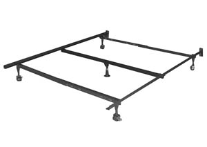Queen Metal Bed Frame w/Center Support Frame