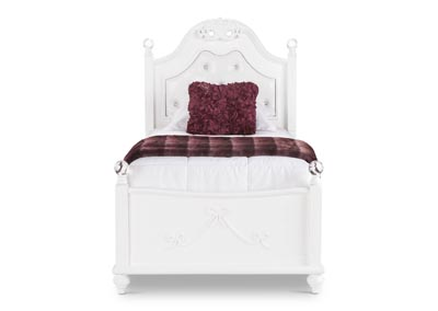Image for White Alana Twin Platform Bed
