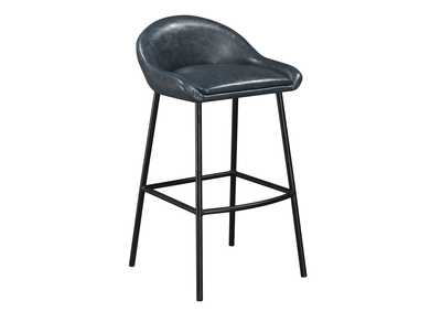 Image for Blue Braylon Bar Stool